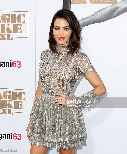 Actress Jenna Dewan Tatum attends the premiere of Warner Bros Pictures' 'Magic Mike XXL' at TCL Chinese Theatre IMAX on June 25 2015 in Hollywood...