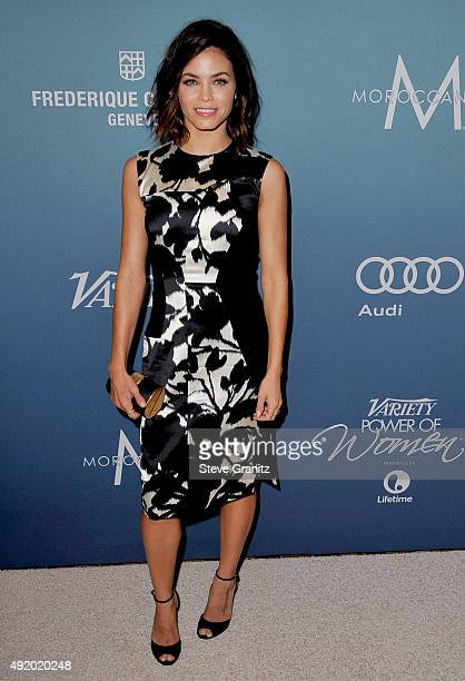 Actress Jenna Dewan Tatum attends Variety's Power Of Women Luncheon at the Beverly Wilshire Four Seasons Hotel on October 9 2015 in Beverly Hills...