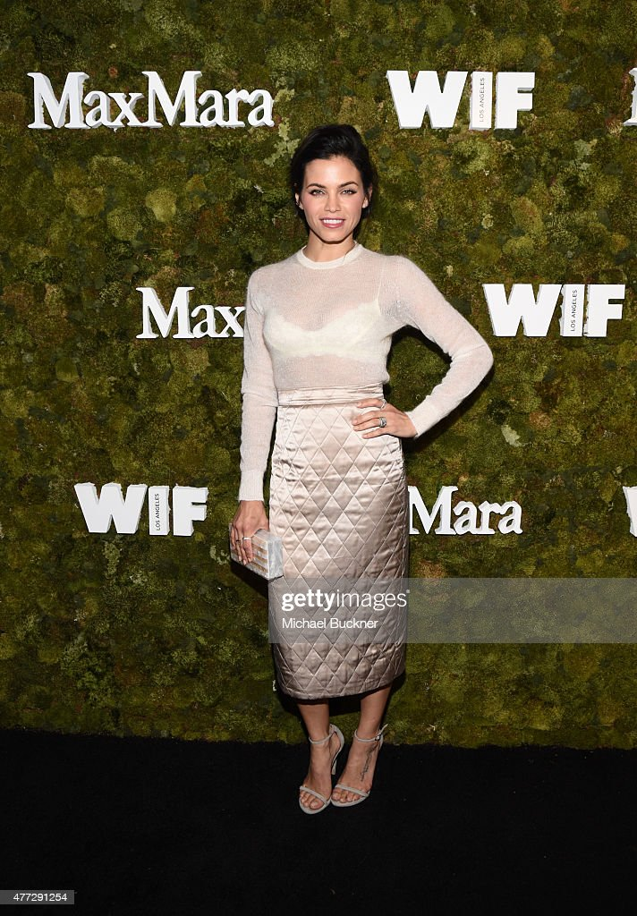 Actress Jenna Dewan Tatum, wearing Max Mara, attends The Max Mara 2015 Women In Film Face Of The Future event at Chateau Marmont on June 15, 2015 in West Hollywood, California.