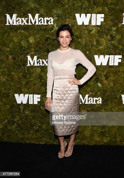 Actress Jenna Dewan Tatum wearing Max Mara attends The Max Mara 2015 Women In Film Face Of The Future event at Chateau Marmont on June 15 2015 in...