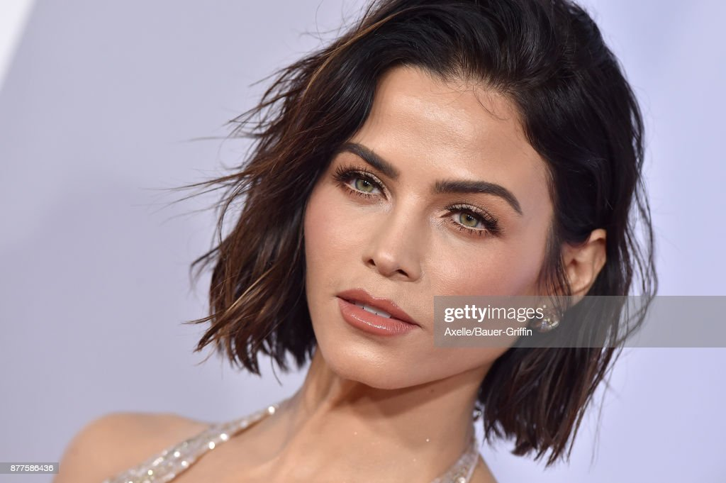 Actress Jenna Dewan-Tatum arrives at the 2017 American Music Awards at Microsoft Theater on November 19, 2017 in Los Angeles, California.