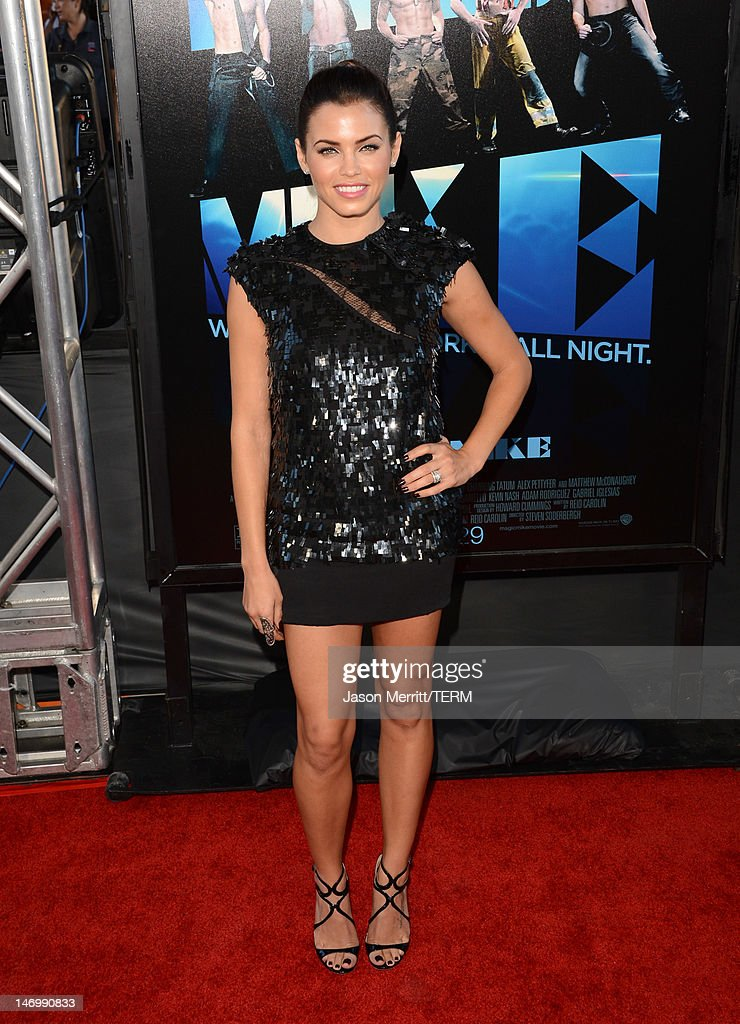 Actress Jenna Dewan-Tatum arrives at the premiere of Warner Bros. Pictures' 'Magic Mike' during the 2012 Los Angeles Film Festival at Regal Cinemas L.A. Live on June 24, 2012 in Los Angeles, California.