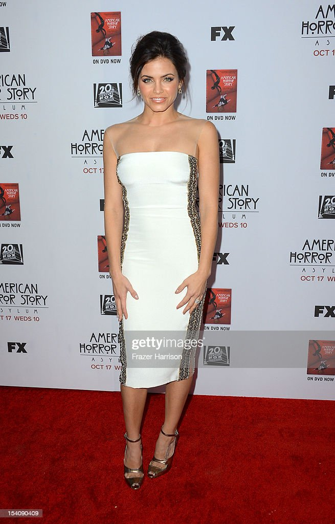 Actress Jenna Dewan-Tatum arrives at the Premiere Screening of FX's 'American Horror Story: Asylum' at the Paramount Theatre on October 13, 2012 in Hollywood, California.