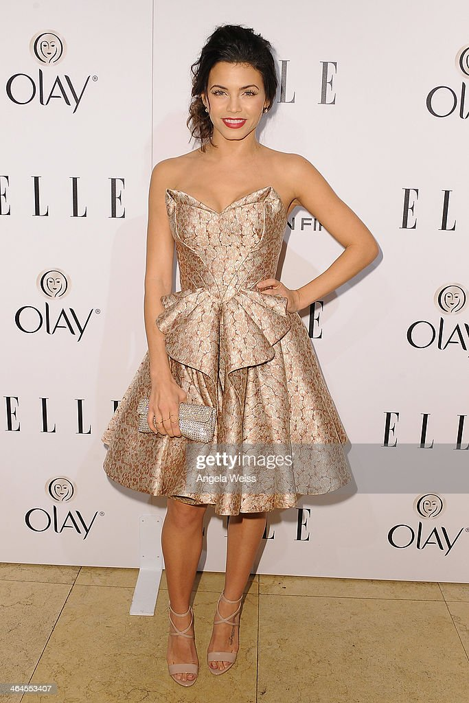 Actress <a gi-track='captionPersonalityLinkClicked' href=/galleries/search?phrase=Jenna+Dewan-Tatum&family=editorial&specificpeople=7220442 ng-click='$event.stopPropagation()'>Jenna Dewan-Tatum</a> attends ELLE's Annual Women in Television Celebration at Sunset Tower on January 22, 2014 in West Hollywood, California.