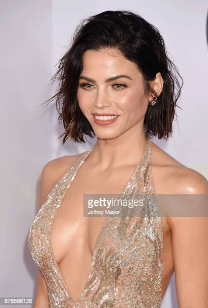Actress Jenna DewanTatum attends the 2017 American Music Awards at Microsoft Theater on November 19 2017 in Los Angeles California