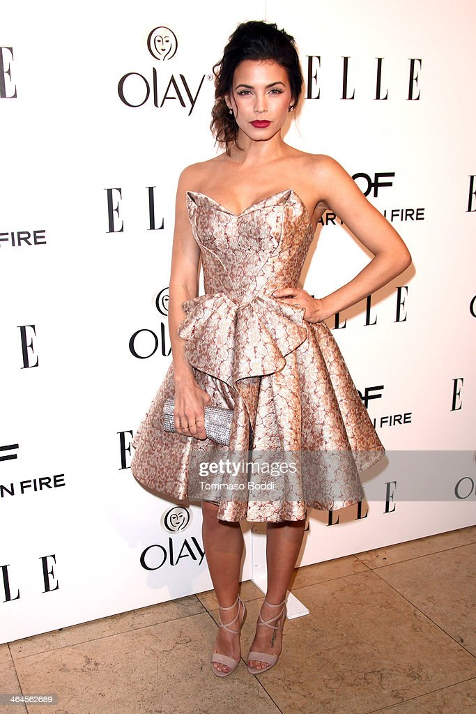 Actress <a gi-track='captionPersonalityLinkClicked' href=/galleries/search?phrase=Jenna+Dewan-Tatum&family=editorial&specificpeople=7220442 ng-click='$event.stopPropagation()'>Jenna Dewan-Tatum</a> attends the ELLE Women In Television Celebration held at the Sunset Tower on January 22, 2014 in West Hollywood, California.