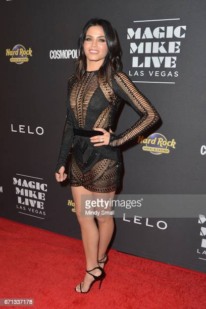 Actress Jenna DewanTatum attends the grand opening of 'Magic Mike Live Las Vegas' at the Hard Rock Hotel Casino on April 21 2017 in Las Vegas Nevada
