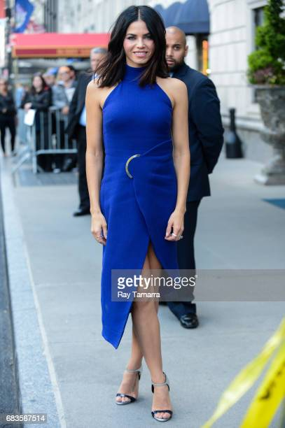 Actress Jenna DewanTatum enters a Midtown Manhattan hotel on MAY 15 2017 in New York City
