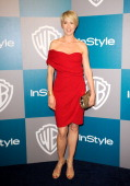 Actress Jenna Elfman arrives at 13th Annual Warner Bros And InStyle Golden Globe Awards After Party at The Beverly Hilton hotel on January 15 2012 in...