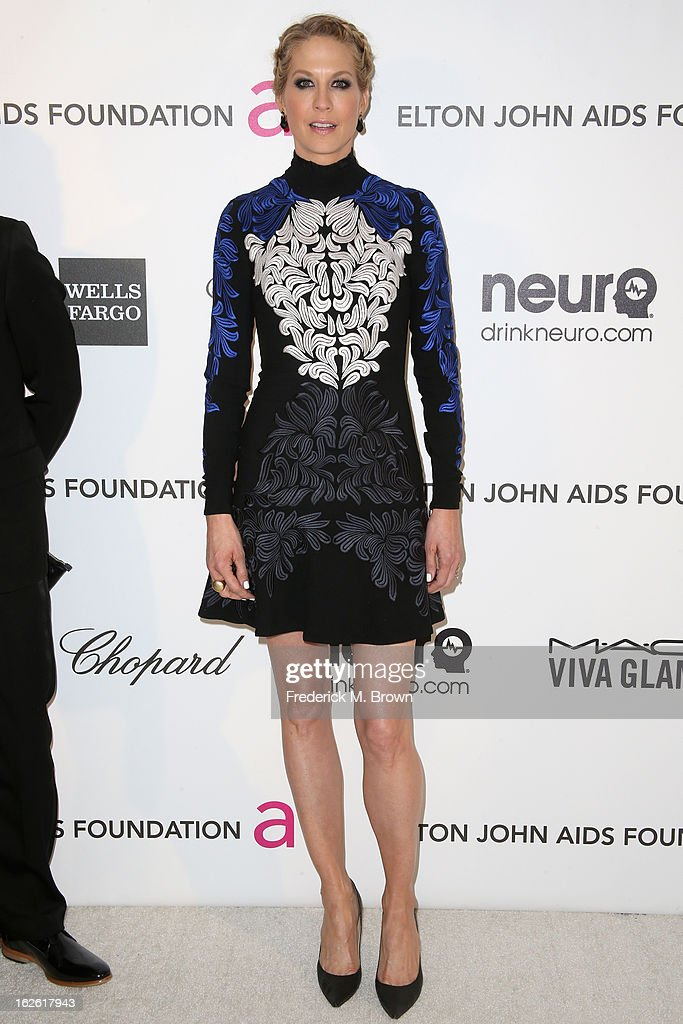 Actress Jenna Elfman arrives at the 21st Annual Elton John AIDS Foundation's Oscar Viewing Party on February 24, 2013 in Los Angeles, California.