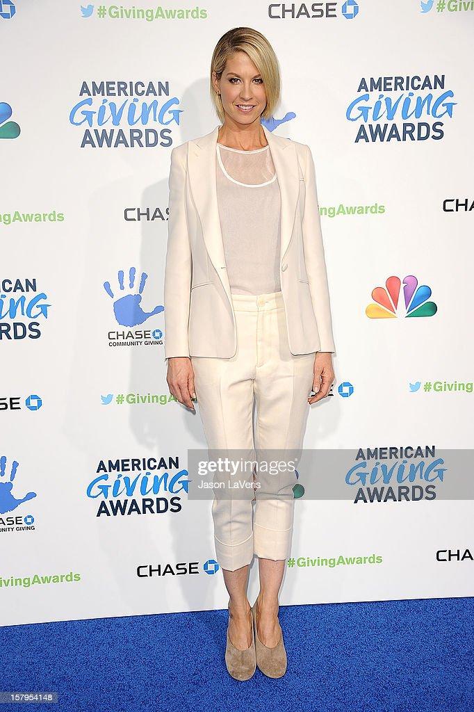 Actress Jenna Elfman attends 2012 American Giving Awards at Pasadena Civic Auditorium on December 7, 2012 in Pasadena, California.