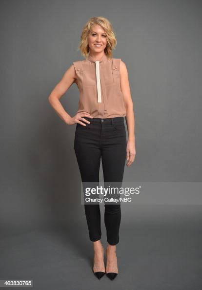 Actress Jenna Elfman attends the 2014 NBCUniversal TCA Winter Press Tour Portraits at Langham Hotel on January 19 2014 in Pasadena California