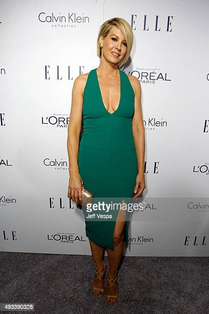 Actress Jenna Elfman attends the 22nd Annual ELLE Women in Hollywood Awards presented by Calvin Klein Collection L'Oréal Paris and David Yurman at...