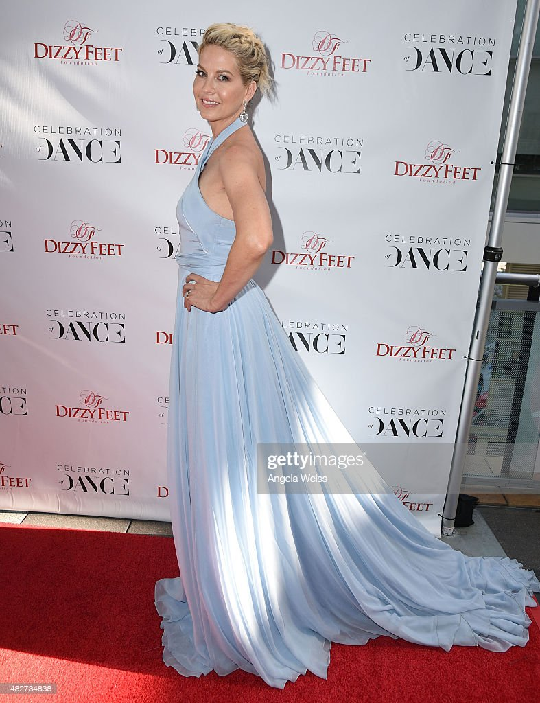 Actress Jenna Elfman attends the 5th Annual Celebration of Dance Gala presented By The Dizzy Feet Foundation at Club Nokia on August 1, 2015 in Los Angeles, California.
