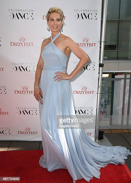 Actress Jenna Elfman attends the 5th Annual Celebration of Dance Gala presented By The Dizzy Feet Foundation at Club Nokia on August 1 2015 in Los...
