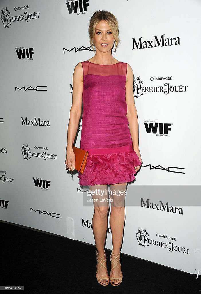 Actress Jenna Elfman attends the 6th annual Women In Film pre-Oscar cocktail party at Fig & Olive Melrose Place on February 22, 2013 in West Hollywood, California.