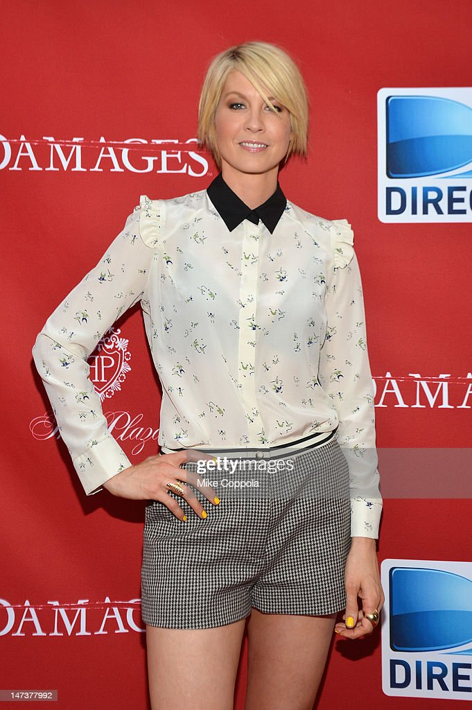 Actress Jenna Elfman attends The DIRECTV Premiere event for the fifth and Final Season of 'Damages' at The Oak Room on June 28, 2012 in New York City.