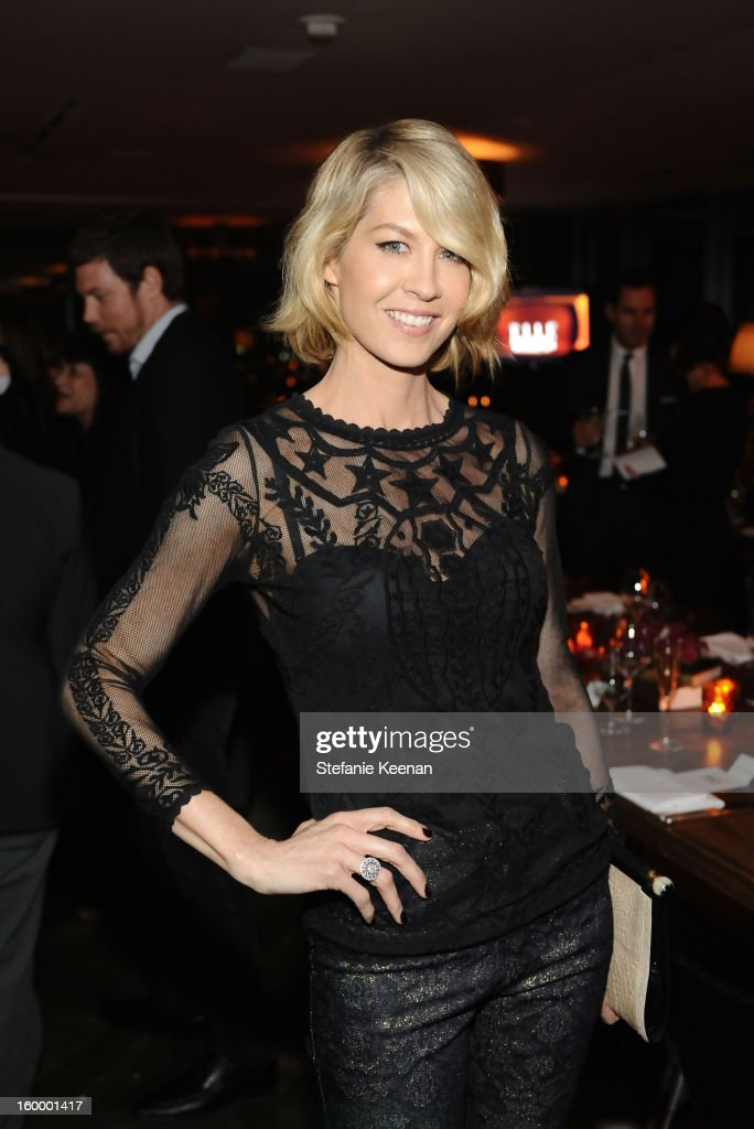 Actress Jenna Elfman attends the ELLE's Women in Television Celebration at Soho House on January 24, 2013 in West Hollywood, California.
