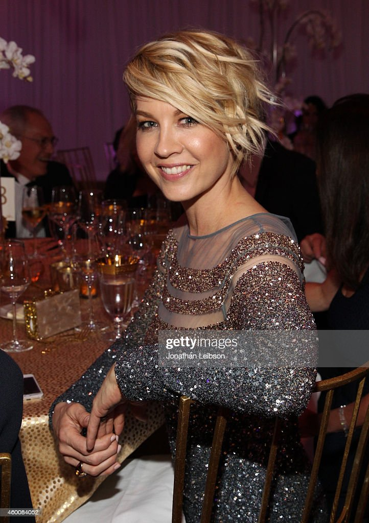 Actress Jenna Elfman attends The Music Center's 50th Anniversary Spectacular at The Music Center on December 6 2014 in Los Angeles California