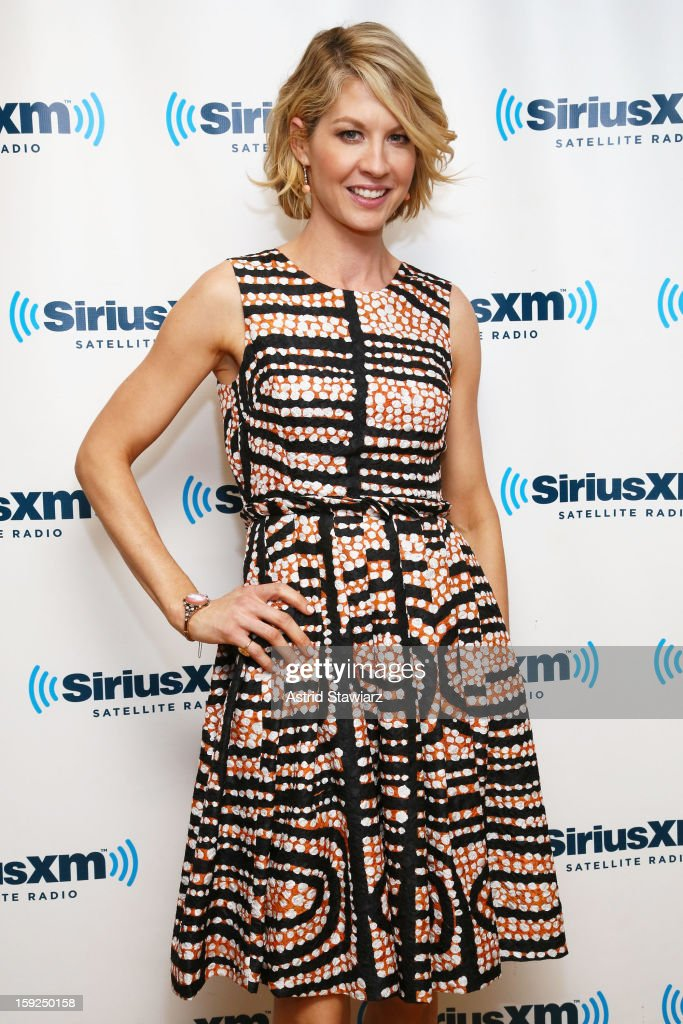 Actress <a gi-track='captionPersonalityLinkClicked' href=/galleries/search?phrase=Jenna+Elfman&family=editorial&specificpeople=204782 ng-click='$event.stopPropagation()'>Jenna Elfman</a> visits SiriusXM studios on January 10, 2013 in New York City.