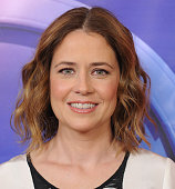 Actress Jenna Fischer arrives at the 2016 NBCUniversal Winter TCA Press Tour at Langham Hotel on January 13 2016 in Pasadena California