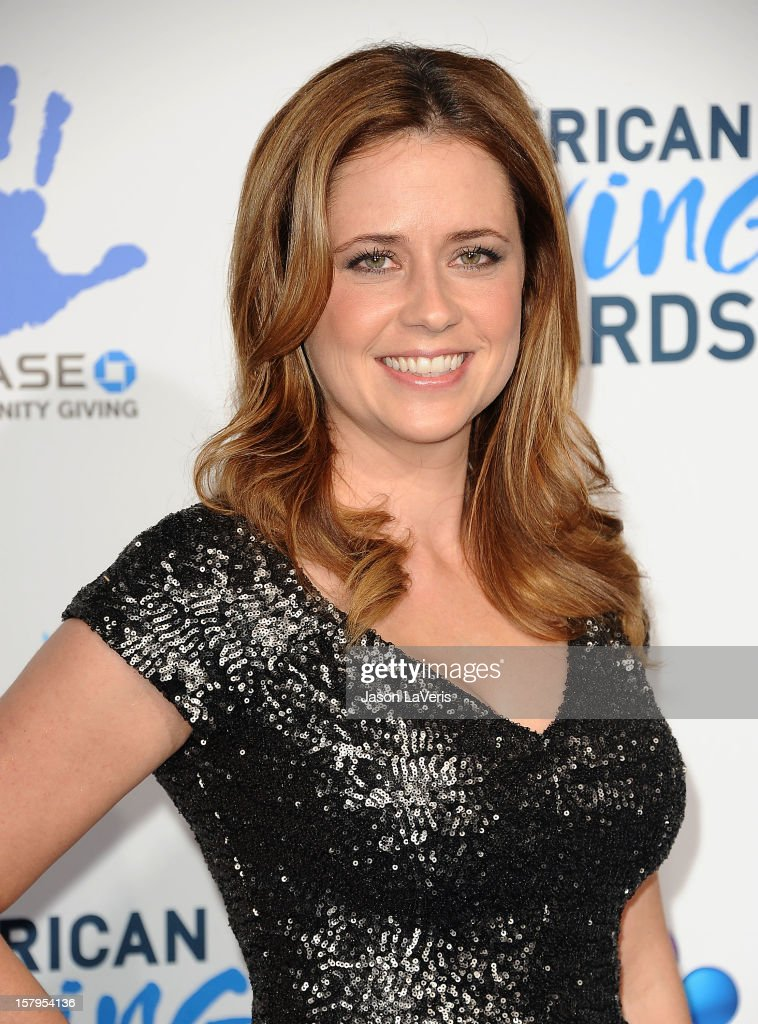Actress Jenna Fischer attends 2012 American Giving Awards at Pasadena Civic Auditorium on December 7, 2012 in Pasadena, California.