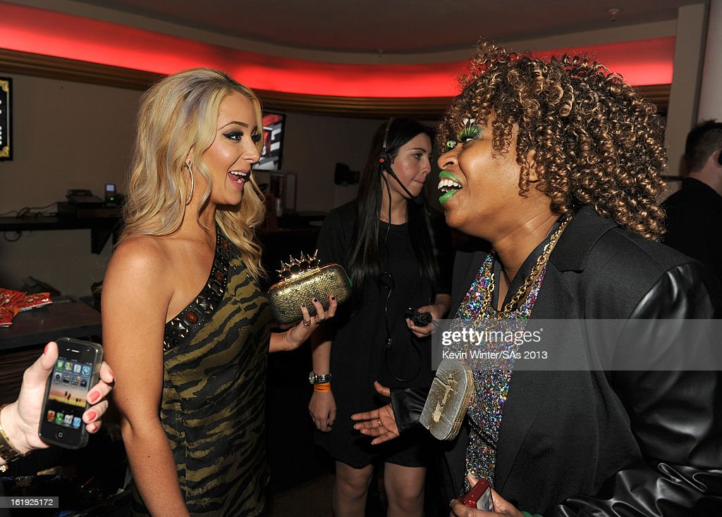 Actress Jenna Marbles and comedian GloZell Green attend the 3rd Annual Streamy Awards at Hollywood Palladium on February 17, 2013 in Hollywood, California.