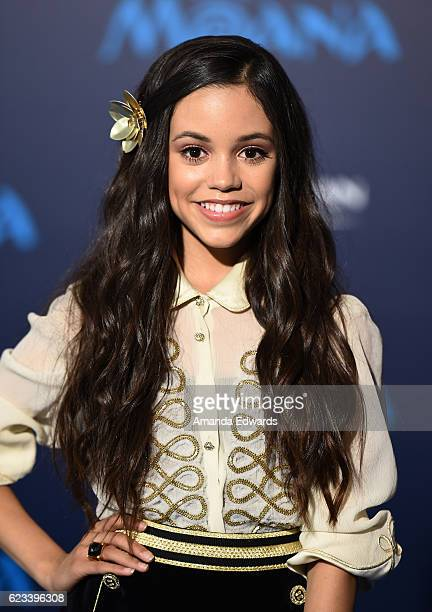 Actress Jenna Ortega arrives at the AFI FEST 2016 Presented By Audi premiere of Disney's 'Moana' at the El Capitan Theatre on November 14 2016 in...
