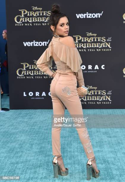 Actress Jenna Ortega arrives at the premiere of Disney's 'Pirates of the Caribbean Dead Men Tell No Tales' at Dolby Theatre on May 18 2017 in...