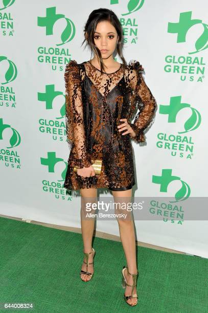 Actress Jenna Ortega attends the 14th Annual Global Green PreOscar Gala at TAO Hollywood on February 22 2017 in Los Angeles California