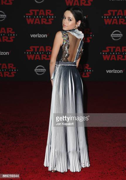 Actress Jenna Ortega attends the Los Angeles Premiere 'Star Wars The Last Jedi' at The Shrine Auditorium on December 9 2017 in Los Angeles California