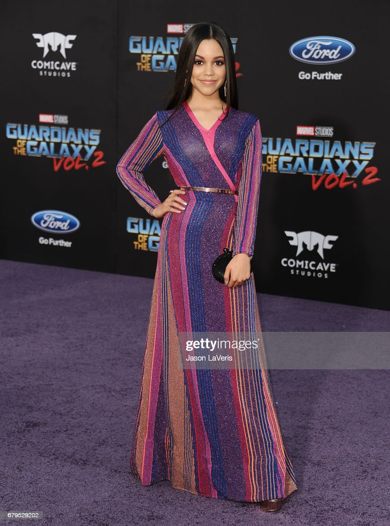 Actress Jenna Ortega attends the premiere of 'Guardians of the Galaxy Vol. 2' at Dolby Theatre on April 19, 2017 in Hollywood, California.