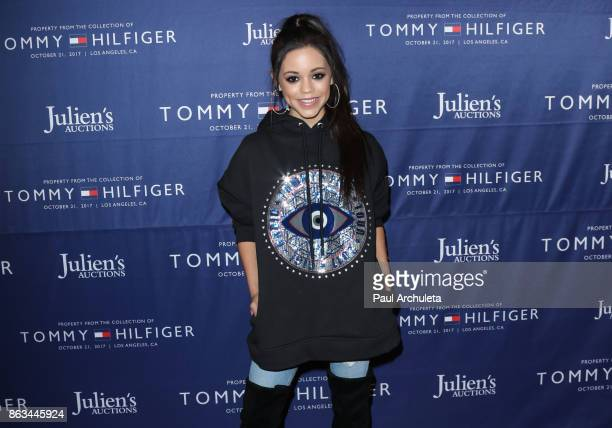Actress Jenna Ortega attends the Tommy Hilfiger VIP reception and Julien's Auctions on October 19 2017 in Los Angeles California
