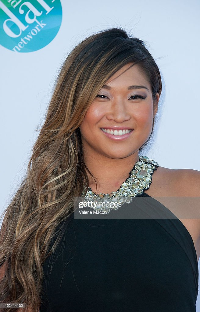 Actress <a gi-track='captionPersonalityLinkClicked' href=/galleries/search?phrase=Jenna+Ushkowitz&family=editorial&specificpeople=4863323 ng-click='$event.stopPropagation()'>Jenna Ushkowitz</a> arrives at the 4th Annual Celebration Of Dance Gala Presented By The Dizzy Feet Foundation at Dorothy Chandler Pavilion on July 19, 2014 in Los Angeles, California.