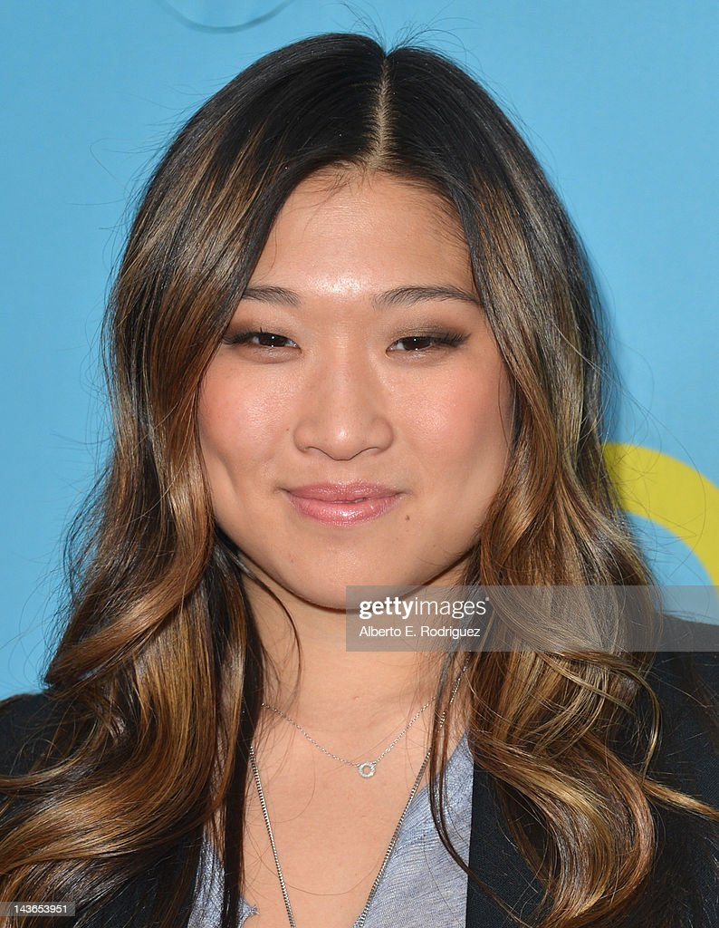 Actress Jenna Ushkowitz arrives to The Academy of Television Arts & Sciences' screening of Fox's 'Glee' at Leonard Goldenson Theatre on May 1, 2012 in North Hollywood, California.