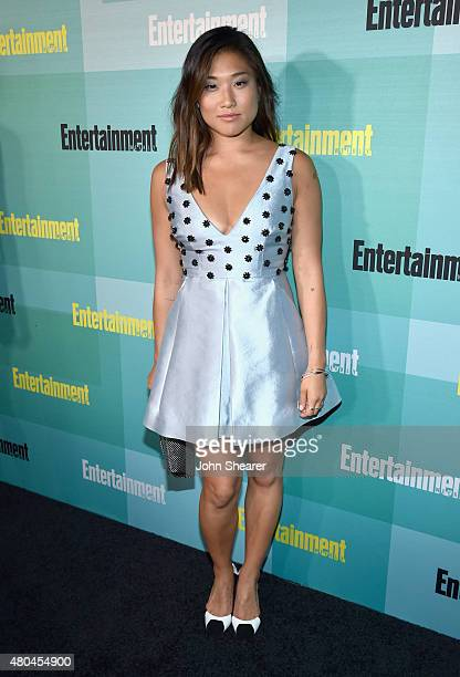 Actress Jenna Ushkowitz attends Entertainment Weekly's Annual ComicCon Party in celebration of ComicCon 2015 at FLOAT at The Hard Rock Hotel on July...