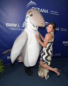 Actress Jenna Ushkowitz attends Oceana's Annual SeaChange Summer Party on August 16 2014 in Laguna Beach California