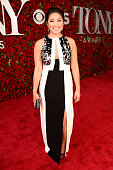 Actress Jenna Ushkowitz attends the 70th Annual Tony Awards at The Beacon Theatre on June 12 2016 in New York City