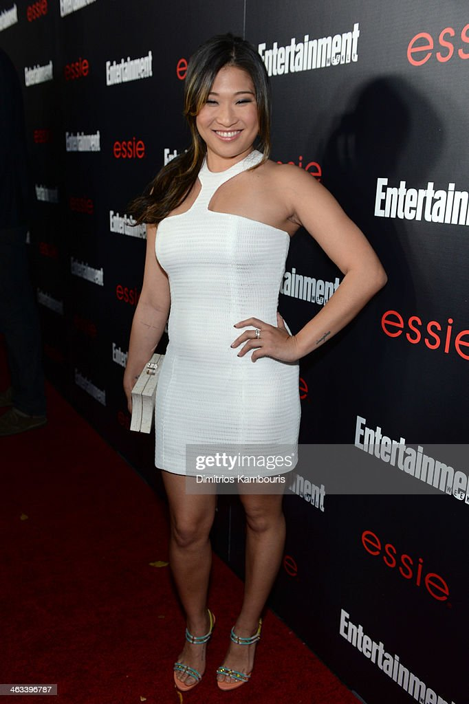 Actress <a gi-track='captionPersonalityLinkClicked' href=/galleries/search?phrase=Jenna+Ushkowitz&family=editorial&specificpeople=4863323 ng-click='$event.stopPropagation()'>Jenna Ushkowitz</a> attends the Entertainment Weekly celebration honoring this year's SAG Awards nominees sponsored by TNT & TBS and essie at Chateau Marmont on January 17, 2014 in Los Angeles, California.