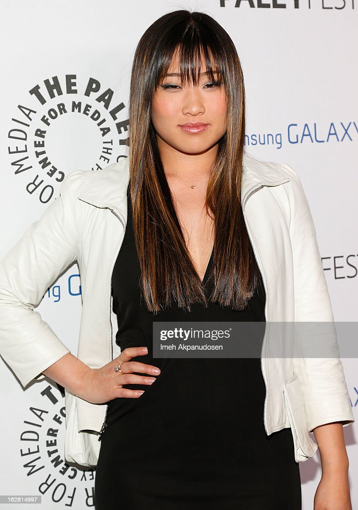 Actress Jenna Ushkowitz attends the Inaugural PaleyFest Icon Award honoring Ryan Murphy at The Paley Center for Media on February 27, 2013 in Beverly Hills, California.