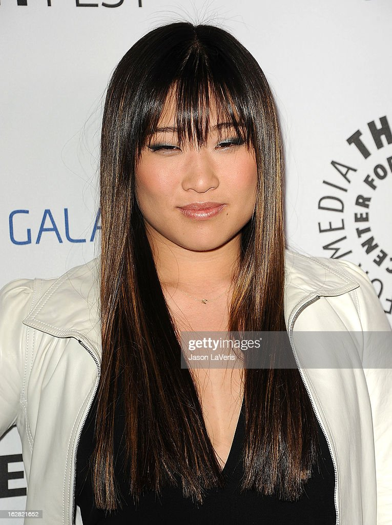 Actress Jenna Ushkowitz attends the PaleyFest Icon Award presentation at The Paley Center for Media on February 27, 2013 in Beverly Hills, California.