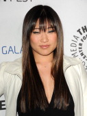 Actress Jenna Ushkowitz attends the PaleyFest Icon Award presentation at The Paley Center for Media on February 27 2013 in Beverly Hills California