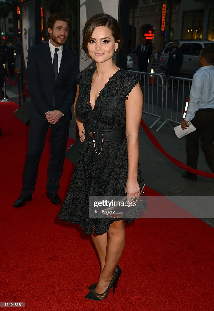 Actress Jenna-Louise Coleman arrives to HBO's 'Game Of Thrones' Los Angeles Premiere at TCL Chinese Theatre on March 18, 2013 in Hollywood, California.