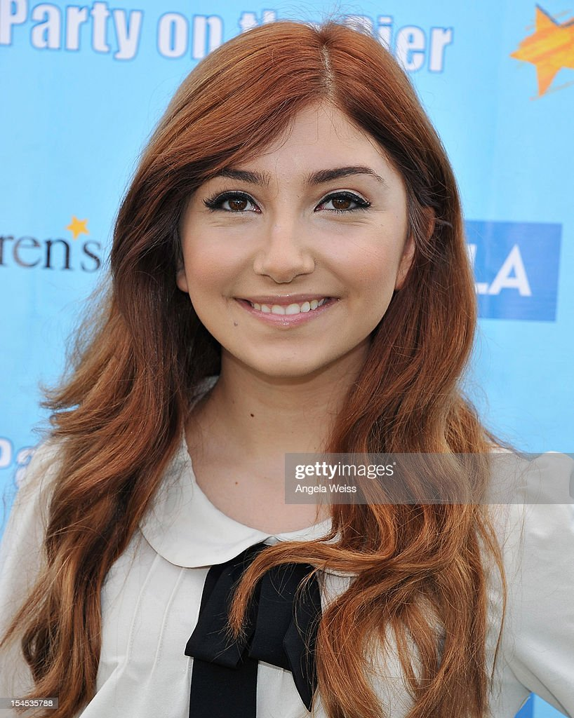 Actress Jennessa Rose arrives to the 'Mattel Party on the Pier' benefiting Mattel Children's Hospital UCLA at Pacific Park on the Santa Monica Pier on October 21, 2012 in Santa Monica, California.
