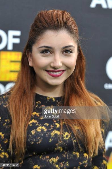 Actress Jennessa Rose attends Cartoon Network's fourth annual Hall of Game Awards at Barker Hangar on February 15 2014 in Santa Monica California