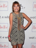 Actress Jennessa Rose attends the grand opening and fashion show for Nicole Winnaman's new boutique 'Nikki West' at Nikki West Boutique on August 1...