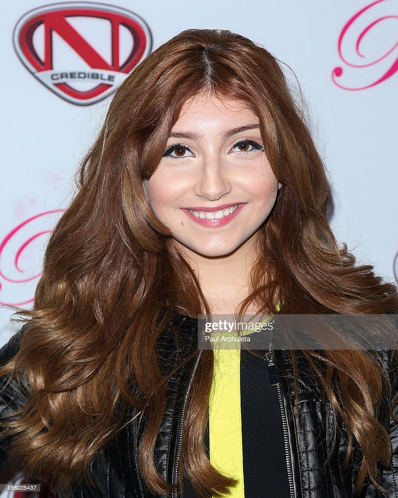 Actress Jennessa Rose attends the 'Skate & Donate' charity event at the Moonlight Rollerway on December 8, 2012 in Glendale, California.