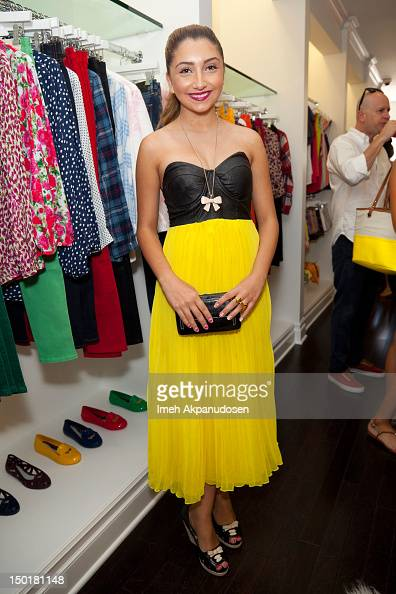 Actress Jennessa Rose attends the Teen Vogue BackToSchool Event Madison t Boutique Launch Party on August 11 2012 in Pacific Palisades California