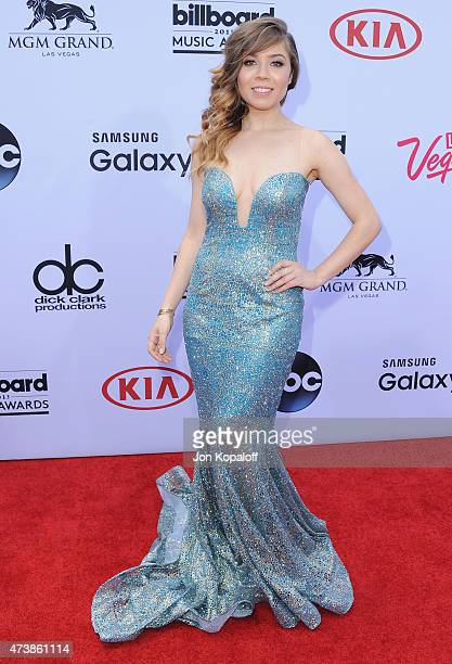 Actress Jennette McCurdy arrives at the 2015 Billboard Music Awards at MGM Garden Arena on May 17 2015 in Las Vegas Nevada