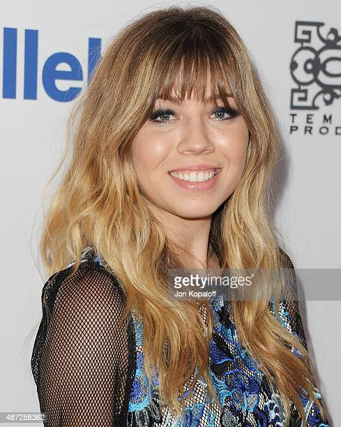 Actress Jennette McCurdy arrives at the 6th Annual Thirst Gala at The Beverly Hilton Hotel on June 30 2015 in Beverly Hills California